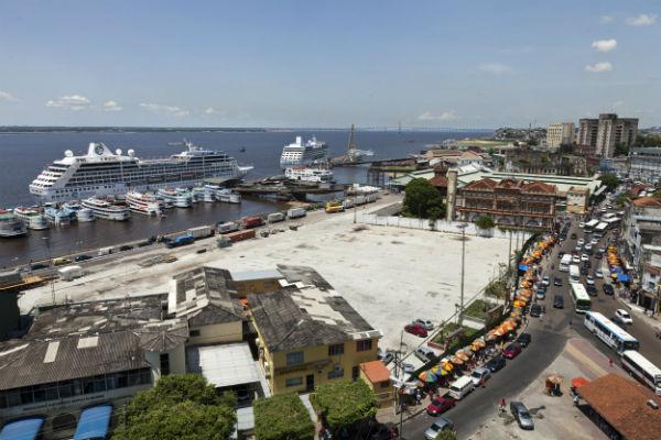 Porto de Manaus - Wikimedia