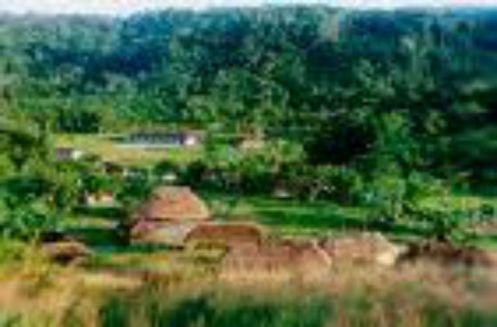 Reserva indígena em Roraima