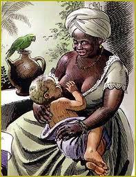 Ama-de-leite no período da escravidão no Brasil