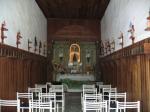 Capela construída em taipa do Solar das Andorinhas- SP - Brasil