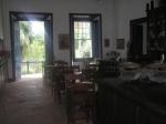 Interior da casa grande do século 18- Solar das Andorinhas - SP - Brasil