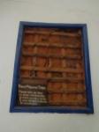 Parede de taipa do casarão colonial do século 18 - Solar das Andorinhas - SP - Brasil-