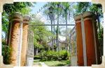 PatrimônioHistórico - portão de ferro que separava a casa grande da senzala e do restante da propriedade colonial - Solar das Andorinhas - SP - Brasil
