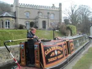 Canal Llangollen, Inglaterra