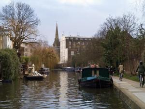 O Regent's Canal, em Londres