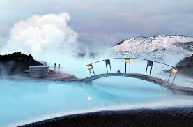 A Lagoa Azul, Islândia