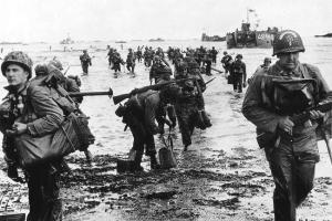 Desembarque dos aliados na Normandia, Dia D (foto original)