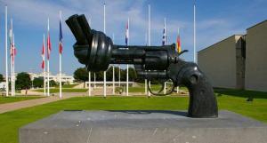O Memorial de Caen, na Normandia, para a memoria da Segunda Grande Guerra
