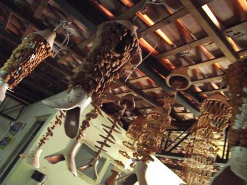 Loja de artesanato  na pequenina cidade de São Raimundo Nonato.