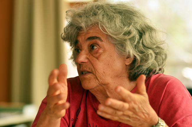 Niéde Guidon, arqueóloga-chefe do Parque da Serra da Capivara.