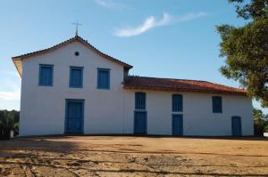 Igreja de Nossa Senhora da Escada, em Guararema, onde está a imagem de São Longuinho