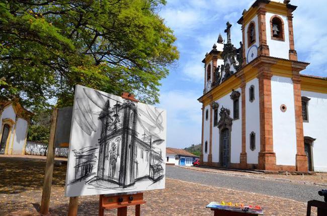 Sabará, cidade histórica de Minas Gerais. Foto Fanny Bracher.