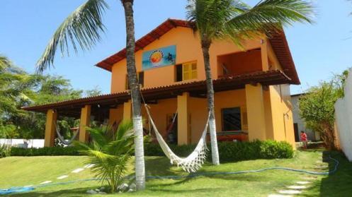 O Hostel Rolling Stone, em Caucaia, no Ceará.