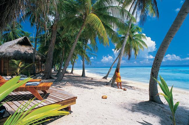 Relax total nas praias coralinas próximas à capital de Santo Domingo.
