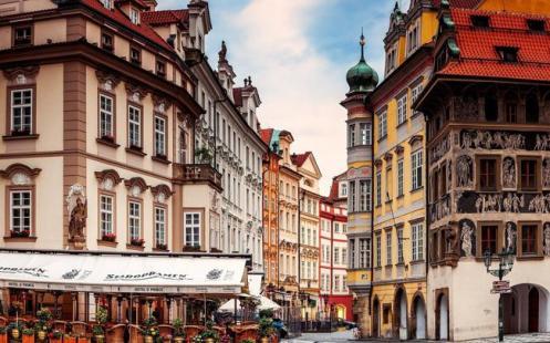 Centro urbano de Praga
