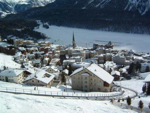 Saint Moritz, na Suíça, é uma das capitais mundiais dos esportes de inverno.