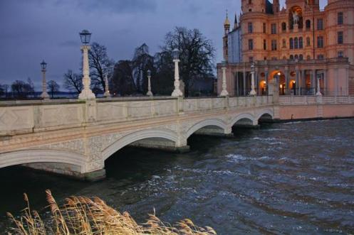 A Schlossbrucke, ponte histórica de Berlim.