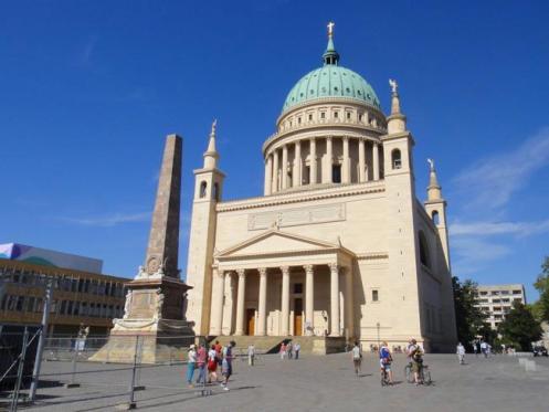 A Igreja de São Nicolau, em Potsdam.