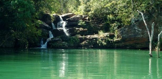 Cachoeira na Serra de Caldas - Uol