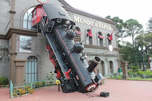 O Museu a Vapor, uma das atrações de Canela.