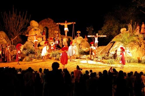 Em Nova Jerusalém, no interior de Pernambuco, acontece uma das encenações mais espetaculares da Paixão de Cristo.