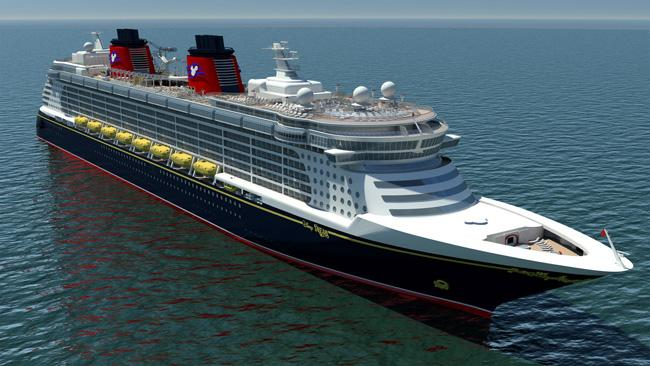Navio da Disney Cruise Line.