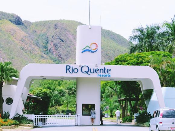 Rio Quente Resort - entrada