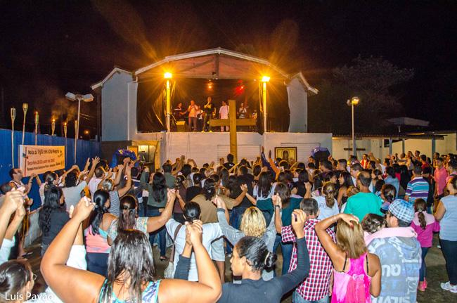 Também em Ubatuba, Litoral Norte de São Paulo, a Paixão é encenada todos os anos.