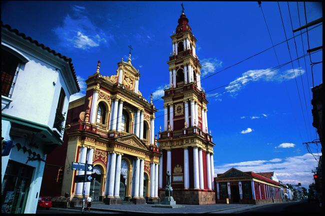 A Igreja de San Francisco, no centro de Salt