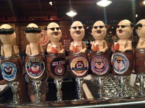 Balcão de cervejaria em Washington, EUA
