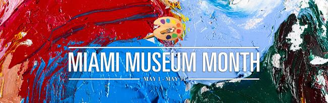 Cartaz do Museum Month, em Miami