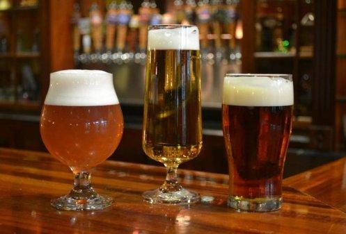 Cerveja - rota em Washington, EUA