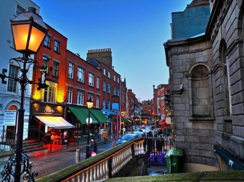 Dublin, capital da Irlanda, na rota da Norwegian Cruise Line.