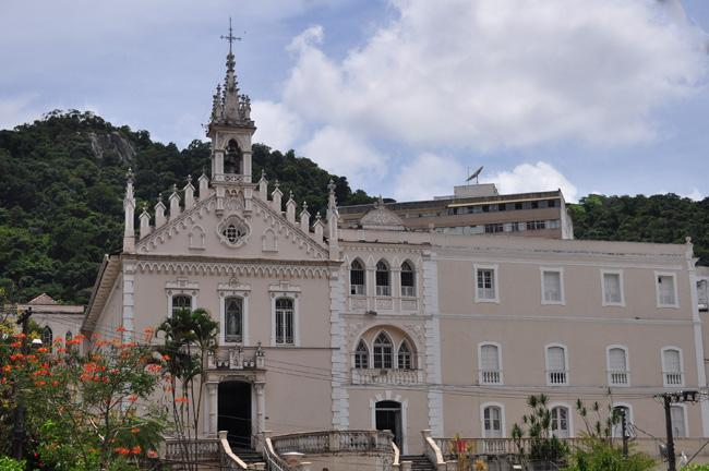 Convento do Carmo, outro dos tesouros do patrimônio histórico da cidade