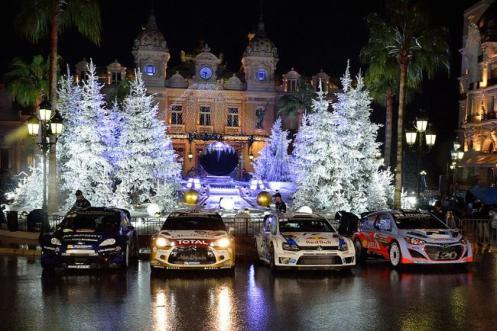 E tem também o Rally de Montecarlo