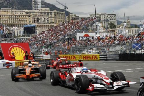 Grande Prêmio da Fórmula 1, acontece todos os anos em Mônaco