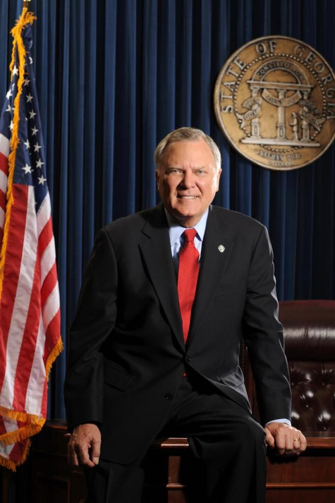Nathan Deal, governador da Geórgia (EUA)