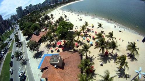 Praia da Curva da Jurema, uma das lindas praias de Vitória.