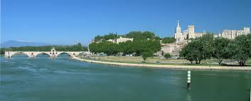 Rio Ródano, na França