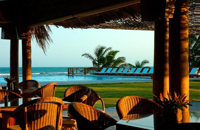 Uxua Casa Hotel & Spa, em Trancoso, no sul da Bahia.