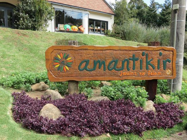 O lindo Parque Amantikir abriga diferentes tipos de Jardins.