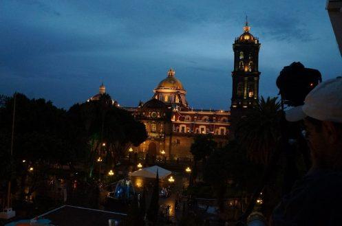 Catedral de Puebla ao anoitecer - Gustavo Belarmino