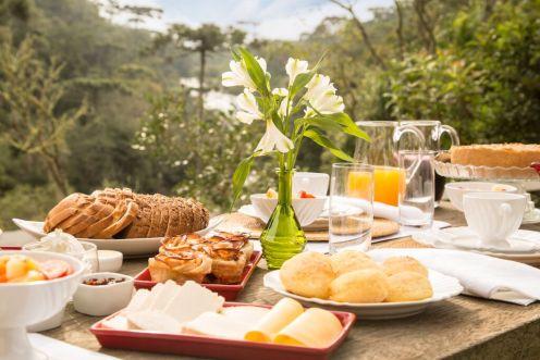 Cafe da manhã no Monte Olimpo