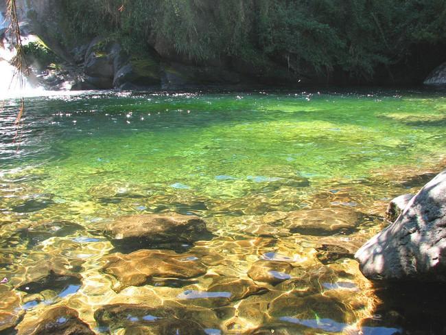 Visconde de Mauá- piscina natural