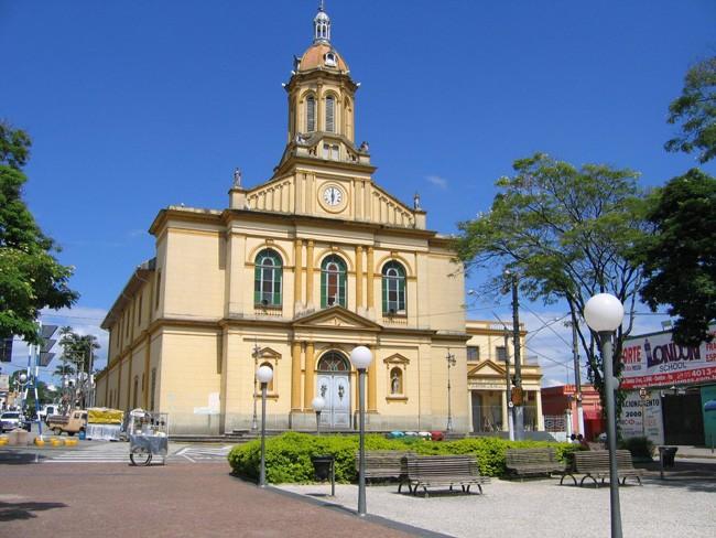 A bela Igreja Matriz de Itu