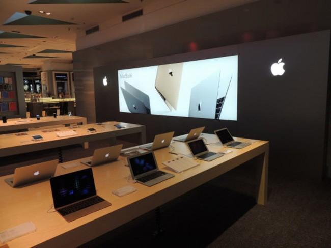 A loja da Apple no Aeroporto de Guarulhos, em São Paulo.