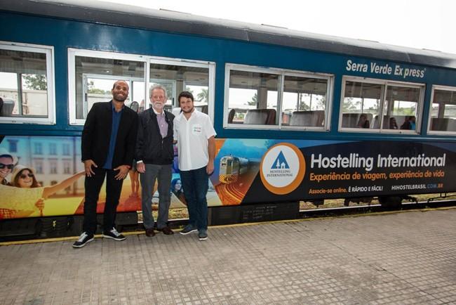 Associados da Hi Hostel Brasil tem desconto no vagão do Trem da Serra do Mar, entre Curitiba e Morretes