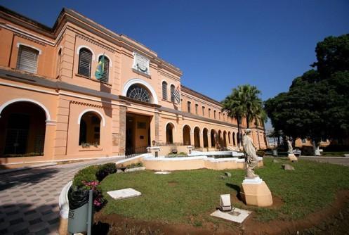 Fachada do Museu da Imigracão, em São Paulo