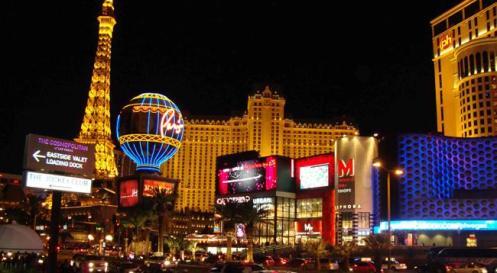 Las Vegas, cidade da diversão e das luzes neon