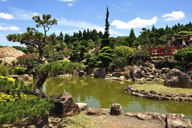 O belíssima Parque Maeda, nos arredores de Itu